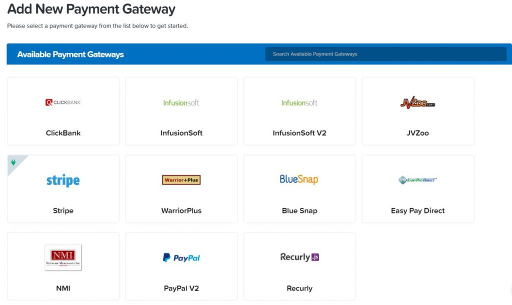 clickfunnels review payment gateway