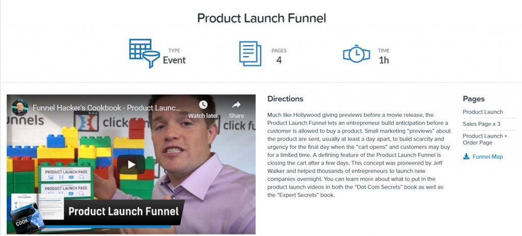 clickfunnels review product launch